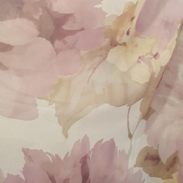 Тюль вуаль цветы
